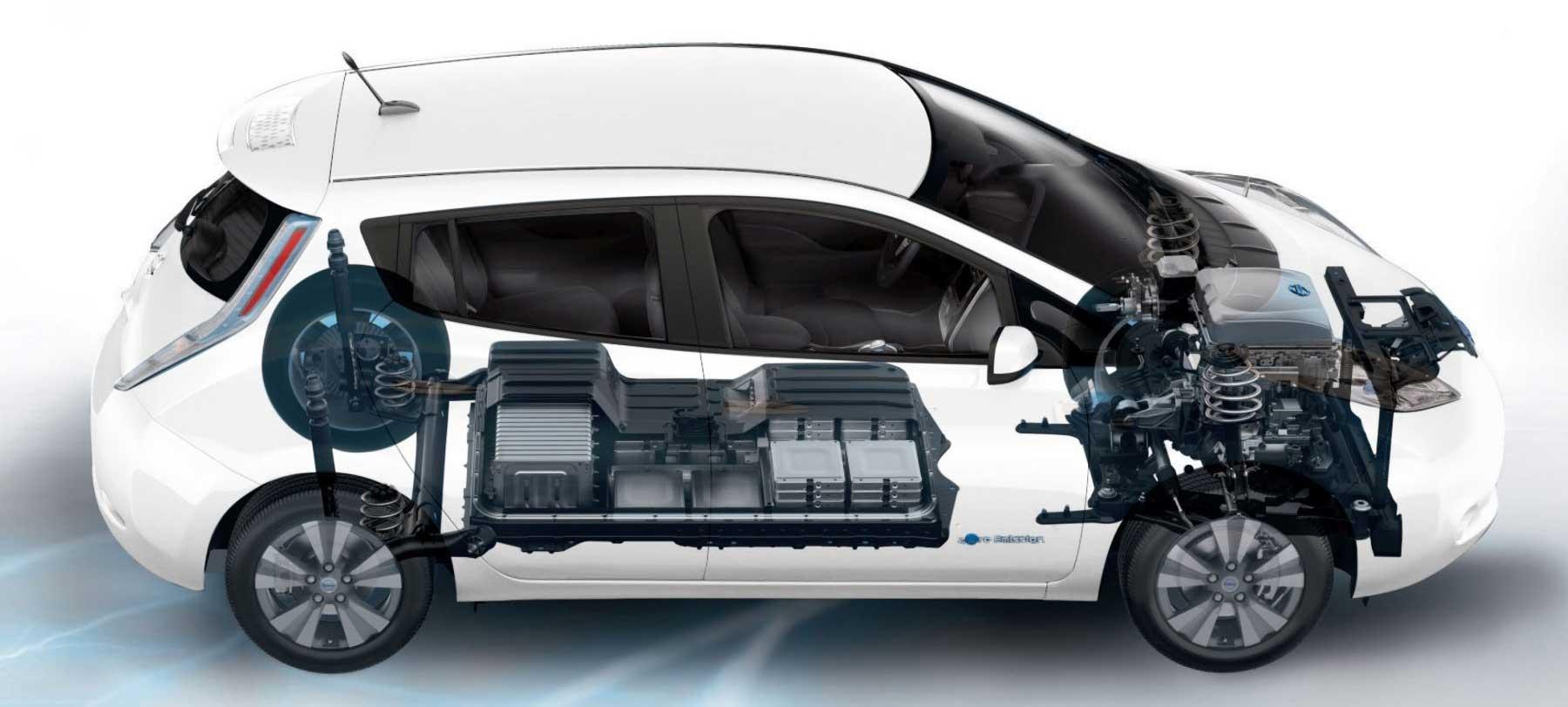 batteria auto elettriche usate