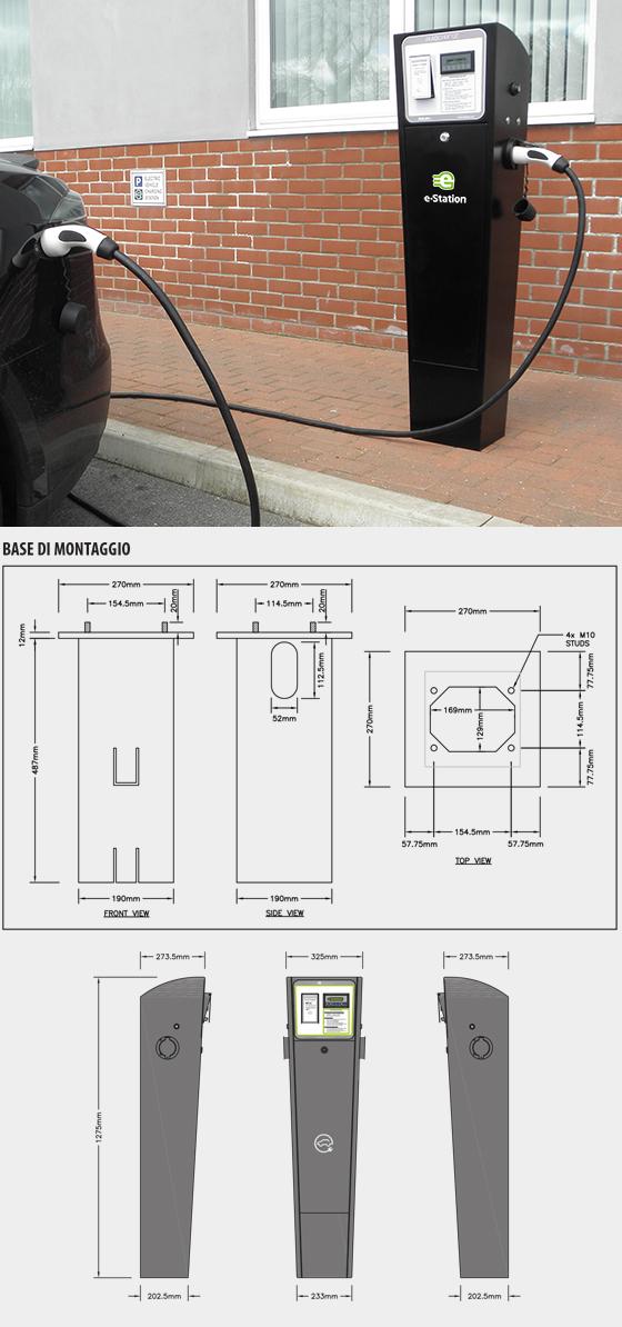 Bitron Schemi Elettrici : Stazioni di ricarica per veicoli elettrici con sistema di